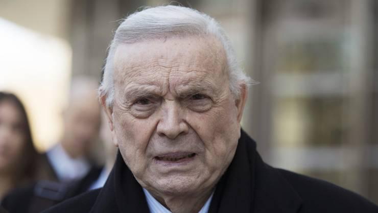 José Maria Marin verlässt das Gericht in New York mit einer Gefängnisstrafe im Gepäck.