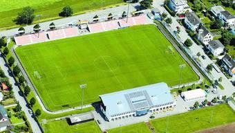 Der FC Solothurn benötigt einen Ausbau der Stadion-Infrastruktur. (Archiv)