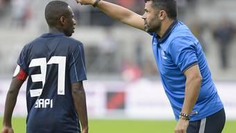 Will dem FCZ den Weg zum Ligaerhalt zeigen: Uli Forte (rechts)