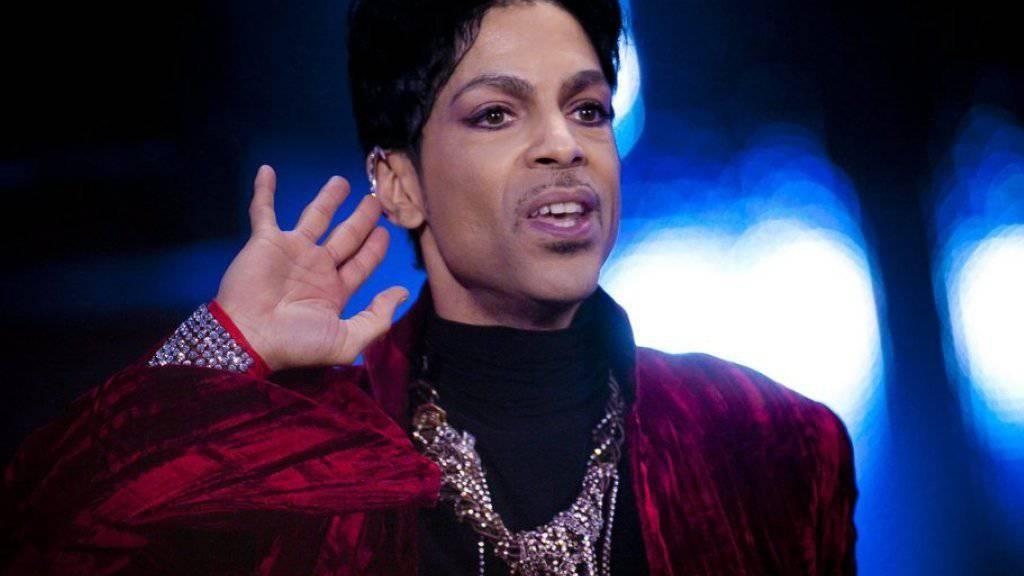 Unter strengen Sicherheitsvorkehrungen gibt Prince am Donnerstag zwei Konzerte in seinem Studio (Archiv).