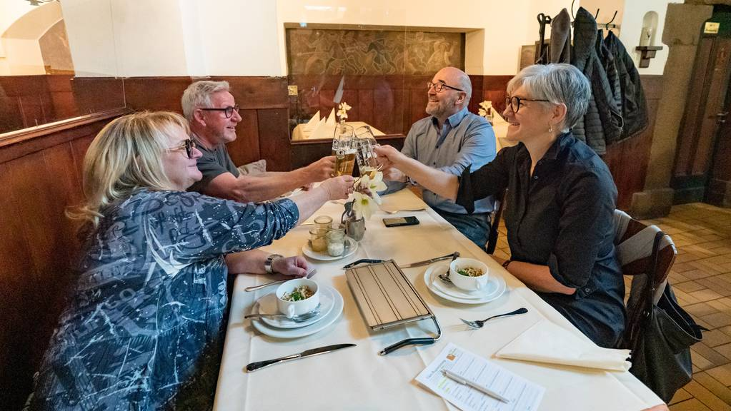 Die Vorarlberger Gastronomie darf seit dem 15. März 2021 ihre Gäste wieder bewirten.