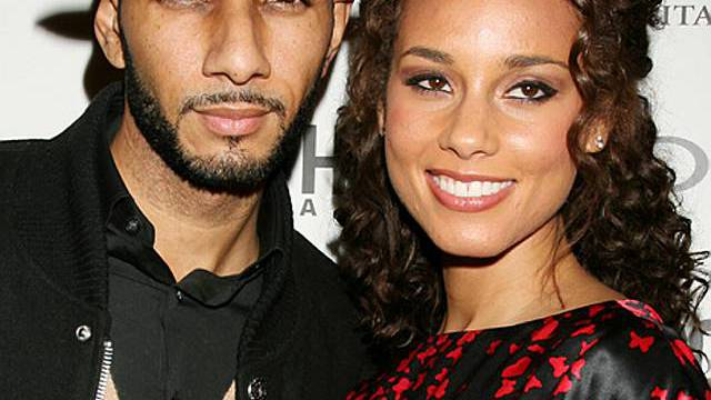 Alicia Keys mit ihrem Ehemann, dem Rapper Swizz Beatz (Archiv)