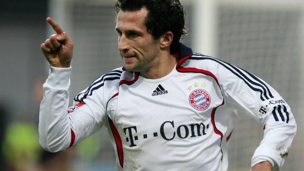 Hasan Salihamidzic (im Bild noch als Bayern-Spieler) ist neuer Sportdirektor bei Bayern München