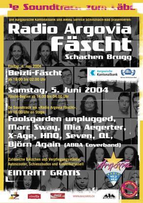 Gemeinsam mit vielen anderen Schweizer Künstlern und der deutschen Band Fools Garden.