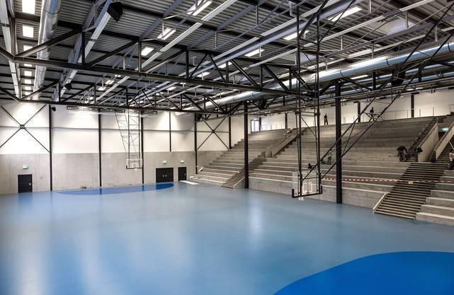 Die GoEasy-Arena in Siggenthal Station wurde im Januar 2016 eröffnet.