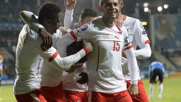 Die Schweizer sichern sich den Sieg in Tallinn