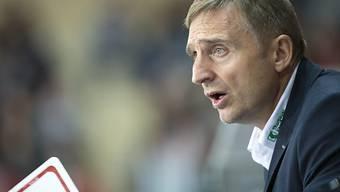 Thurgau-Coach Christian Weber staunt wohl selbst über das 1:0.
