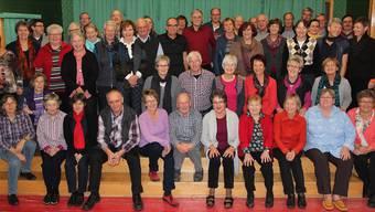 Eine Ära geht zu Ende: Die Sängerinnen und Sänger des traditionsreichen Waltenschwiler Chors.ZVG