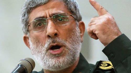 Ismail Ghaani führt künftig die  Al-Kuds-Brigaden.