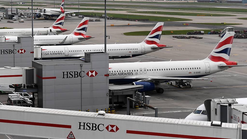 Auch heute dürften die Maschinen der britischen Fluggesellschaft am Boden bleiben. (Archivbild)