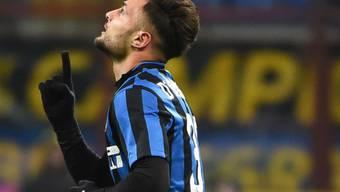 Danilo D'Ambrosio, einer der seltenen italienischen Torschützen im Inter-Trikot