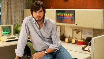 So sieht Asthon Kutcher als Steve Jobs