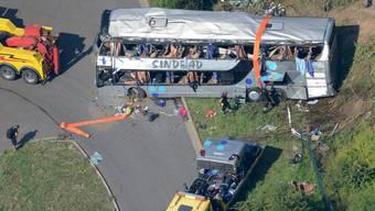 Tote und Verletzte nach Busunglück in Dresden