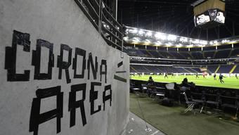 Wie die Commerzbank Arena beim letzten Auftritt des FCB «Corona Area» war, wird dies ab Montag auch das Joggeli sein. Dort wird vorerst trainiert.