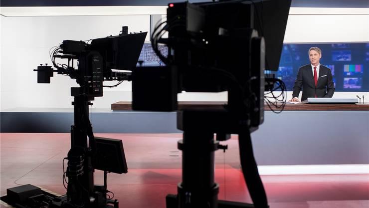 Lange Zeit das Aushängeschild des Schweizer Fernsehens: die «Tagesschau». keystone