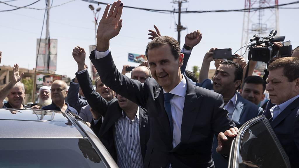 Präsidentenwahl in Syrien: Machthaber Assad vor vierter Amtszeit