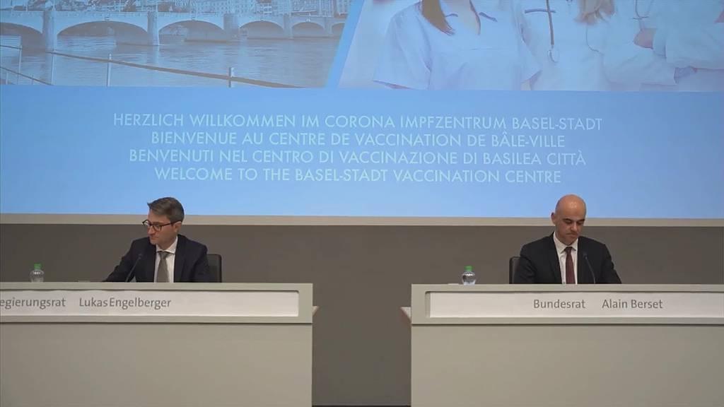 Impfzentren: Basel als Vorreiter in der Schweiz