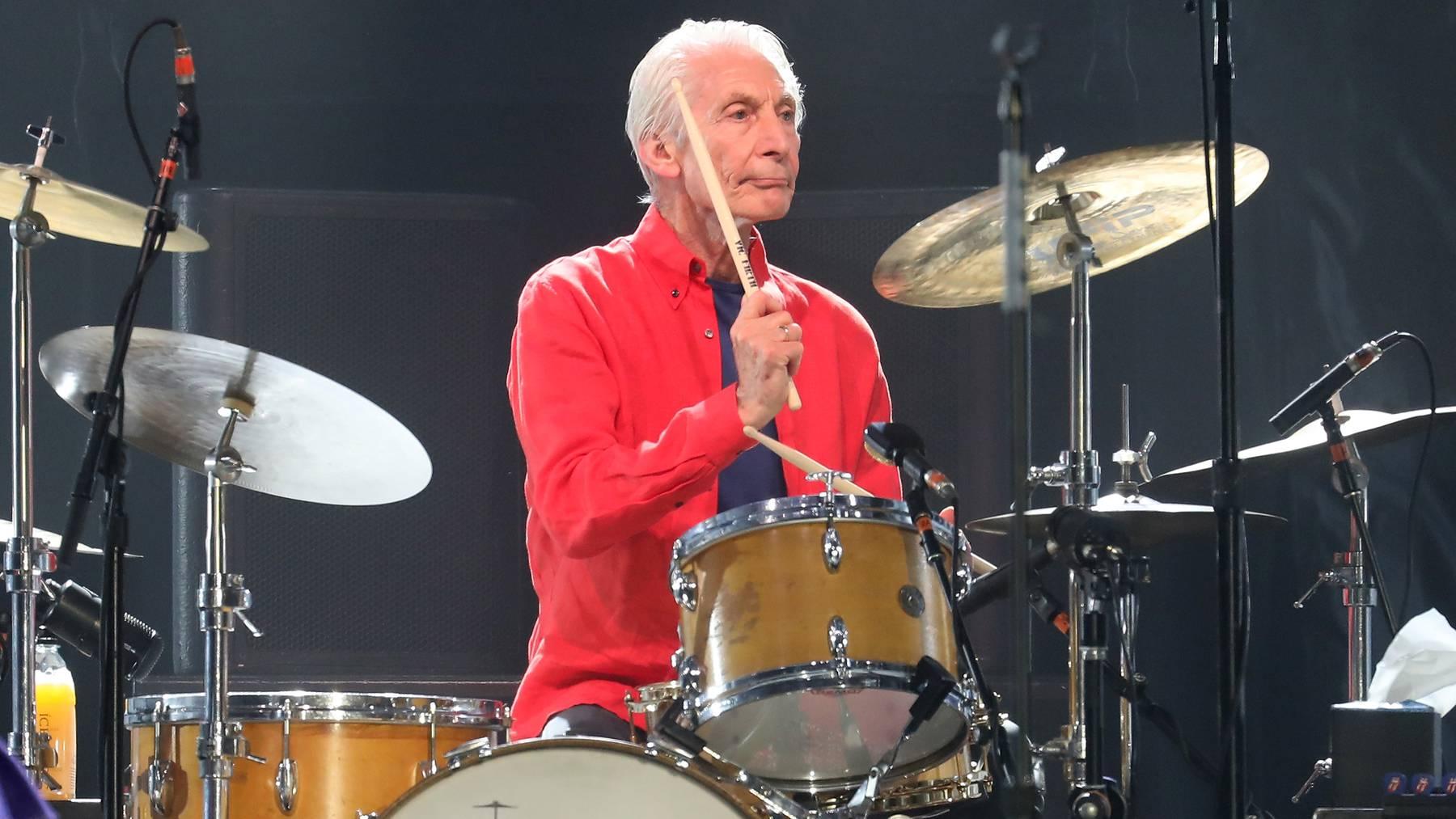 Rolling-Stone-Drummer Charlie Watts ist tot