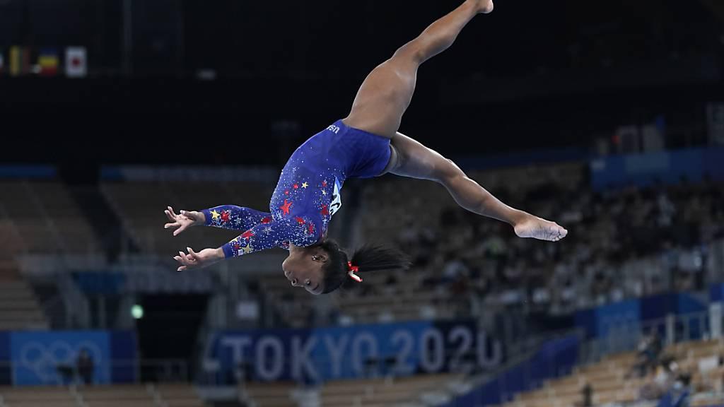Simone Biles will im Final am Schwebebalken antreten