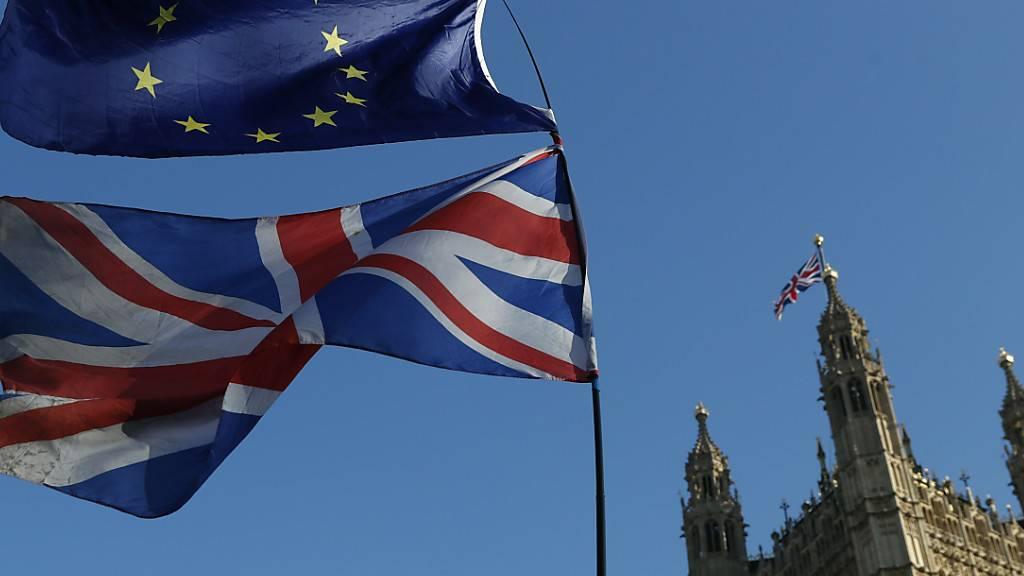 Die Unterhändler der EU und Grossbritanniens wollen ihre Brexit-Verhandlungen am Wochenende in London fortsetzen. (Archivbild)