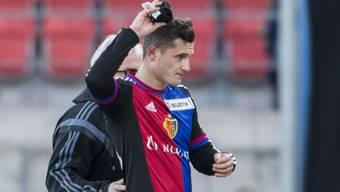 Vier Spielsperren: Basels Taulant Xhaka darf erst wieder am 20. März gegen Sion auflaufen.