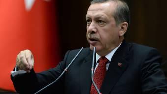 Der türkische Regierungschef Erdogan (Archiv)