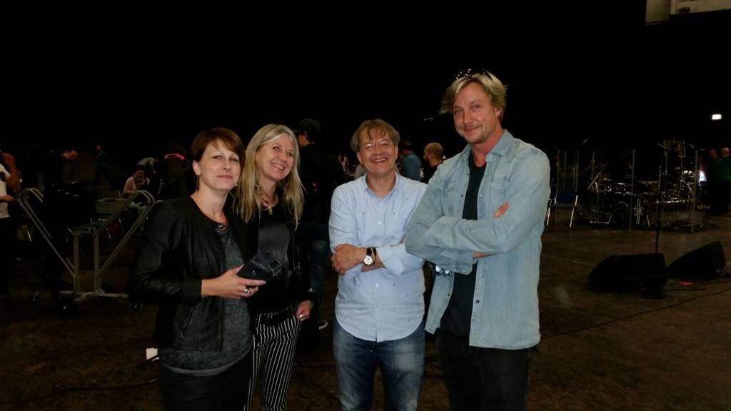 Sabrina aus Malters trifft Samu Haber in Hannover
