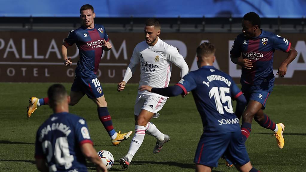 Eden Hazard bringt Real Madrid mit einem schönen Weitschuss-Tor auf Kurs