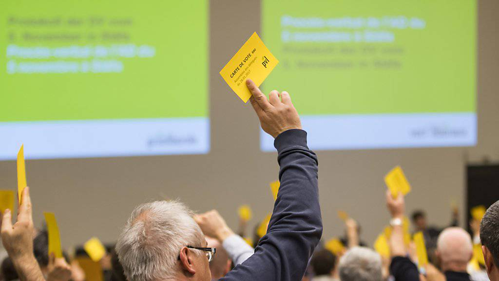 Die Delegierten der Grünliberalen Partei Schweiz setzten an der Versammlung am Samstag in Freiburg ein klares Bekenntnis zu einer offenen und vernetzten Schweiz.