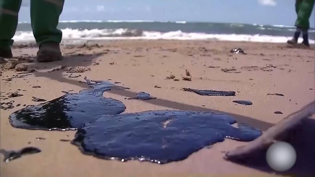 Ölteppich verwüstet Brasiliens Küste