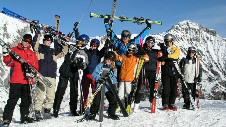 Gehören solche Fotos bald schon der Vergangenheit an? Die Durchführung von Skilagern steht auf dem Spiel.