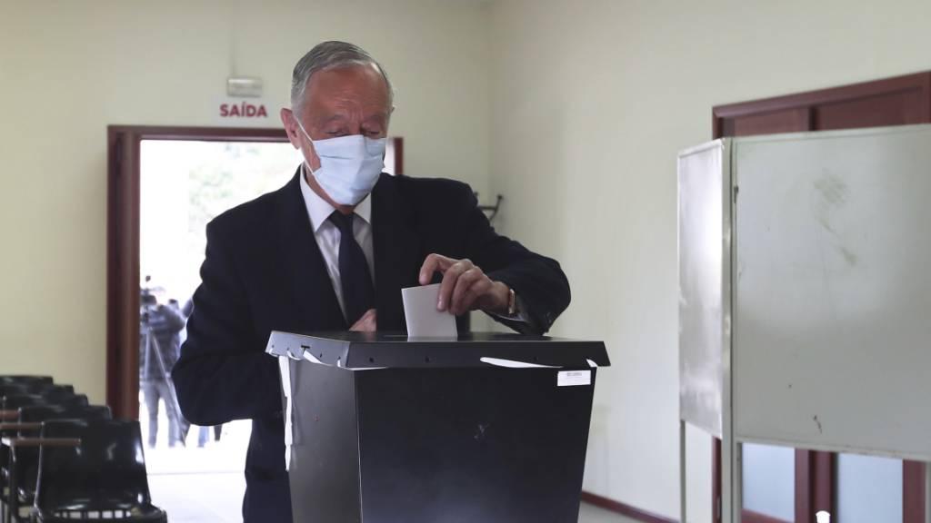 Portugals Präsident Rebelo de Sousa im Amt bestätigt