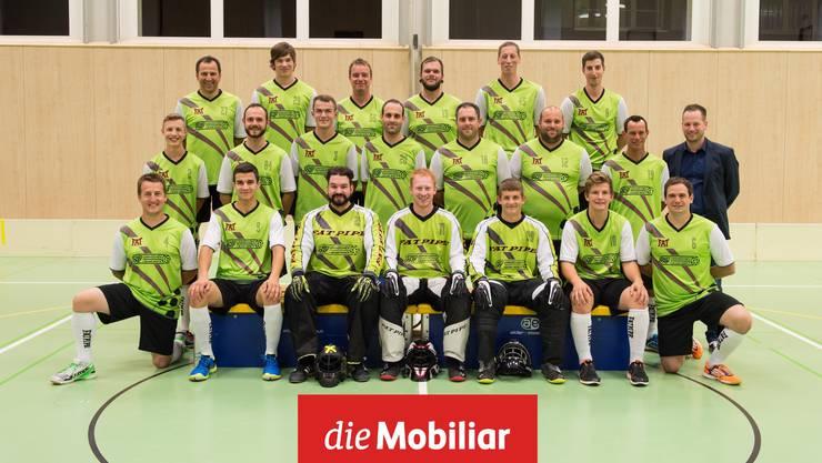 1. und 2. Mannschaft mit Daniel Fink