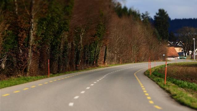Am Anfang stand die Gerade zwischen Wolfwil und Fulenbach