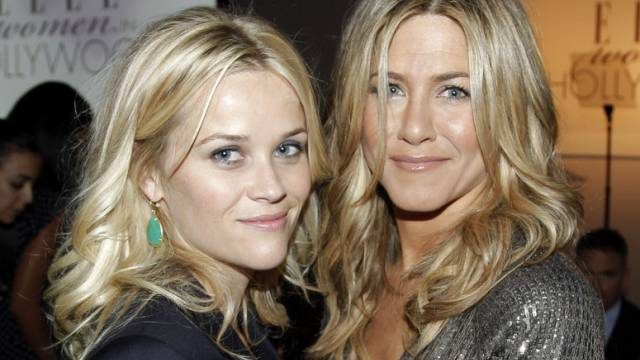 Jennifer Aniston (r.) und Reese Witherspoon (Archiv)