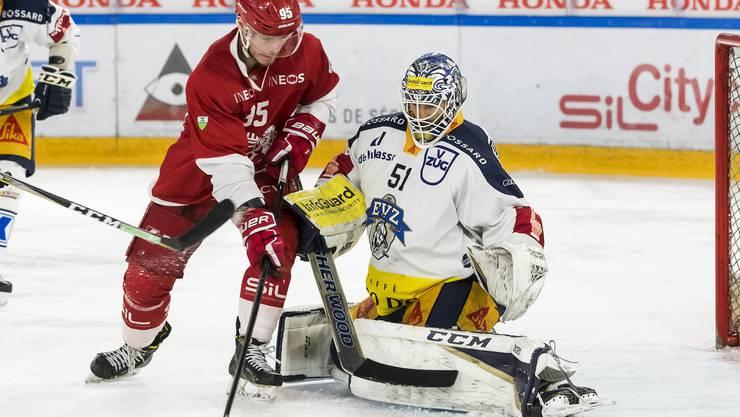 Tobias Stephen ist zwar ein Top-Goalie, wurde aber noch nie Schweizer Meister. Das soll sich nun ändern.