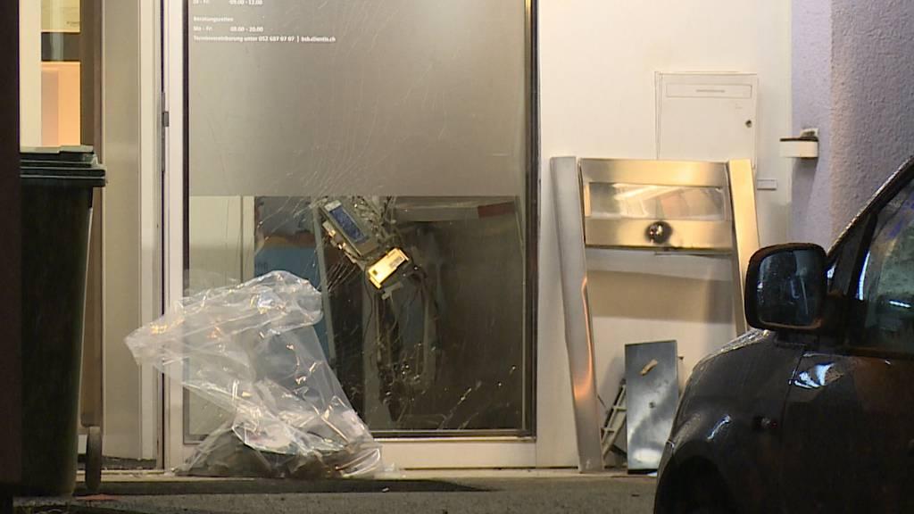 Bankomat in Wilchingen (SH) gesprengt: Täter auf der Flucht