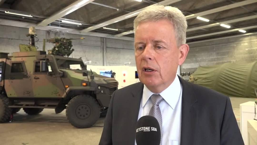 Rüstungschef Martin Sonderegger: Worin die Armee zwei Milliarden Franken investieren will
