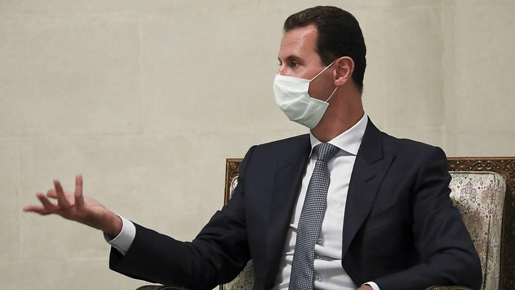 Syriens Präsident Assad für vierte Amtszeit vereidigt