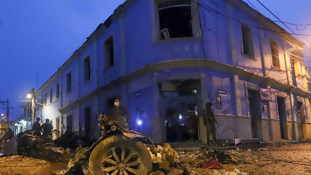 Regierung: 43 Verletzte bei Explosion von Autobombe in Kolumbien