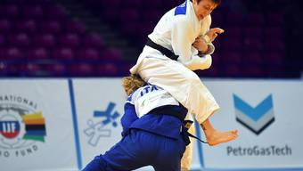 Die zweifache Judo-EM-Dritte Evelyne Tschopp wird auch in Minsk zu den Schweizer Hoffnungsträgern auf einen Podestplatz zählen