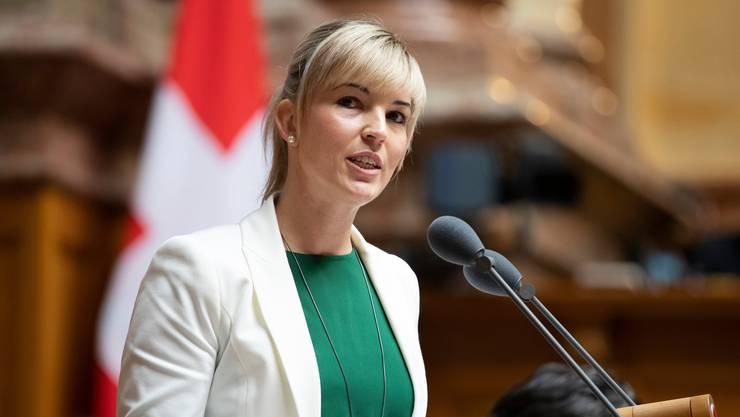 Die Thurgauer SVP-Nationalrätin Diana Gutjahr wird am Klimaevent das Grusswort sprechen.