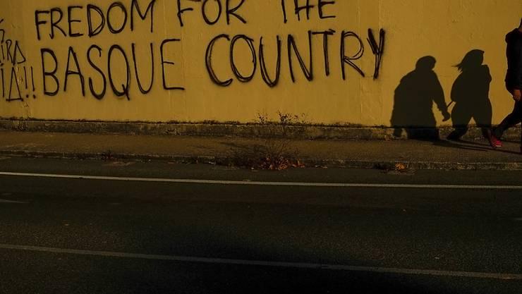 Freiheit für das Baskenland, eine Forderung, die wohl auch nach dem Ende der ETA immer wieder auftauchen wird. (Archiv)