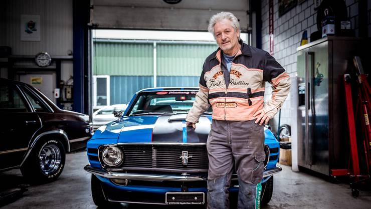 Peter Clénin ist ein fan von US-Vintage-Cars