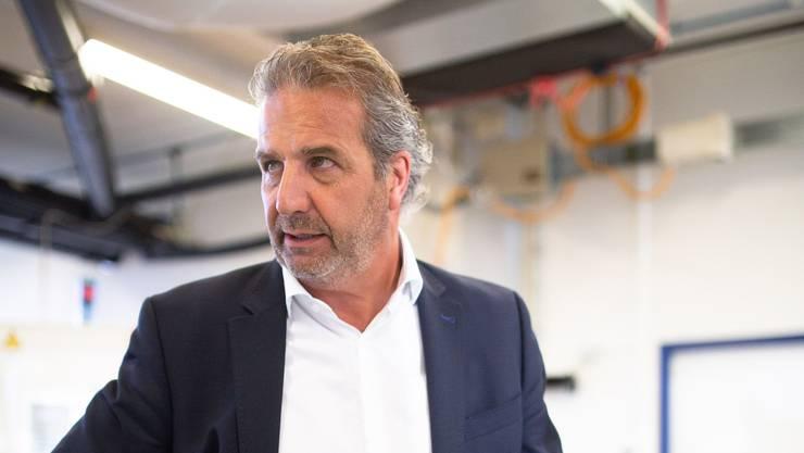 Reto Rüttimann, CEO der Sphinx Werkzeuge AG: «Die Produktion auf dem Werkplatz Schweiz funktioniert.»