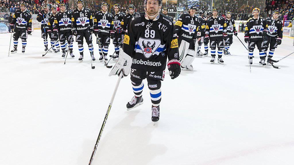 Andrej Bykow (vorne) war mit drei Toren der überragende Spieler von Fribourg