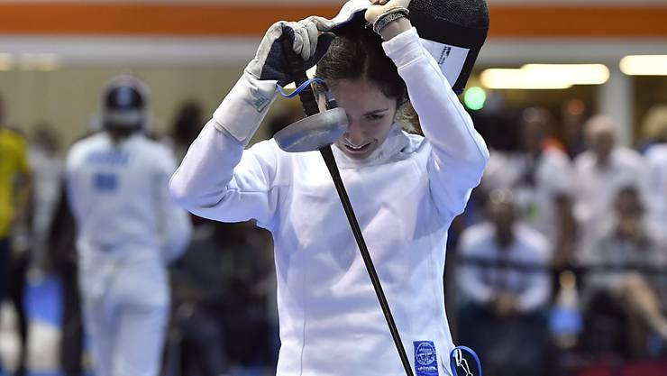Noemi Moeschlin scheiterte an den WM in Budapest in der Runde der letzten 64