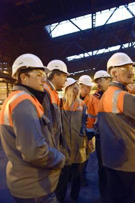 Solothurner Industrietag bei Stahl Gerlafingen  020