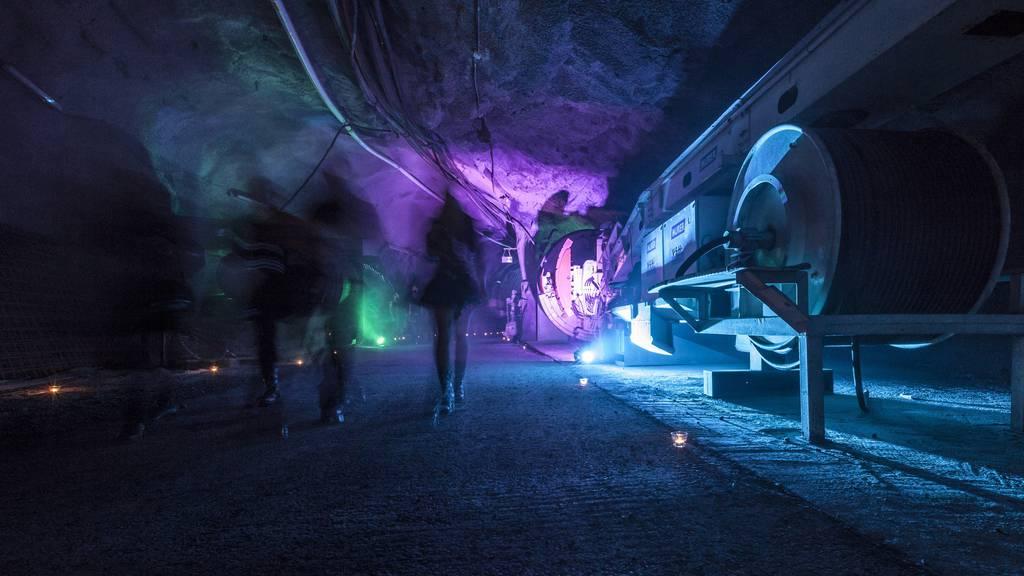 Eine Nacht im Bergwerk