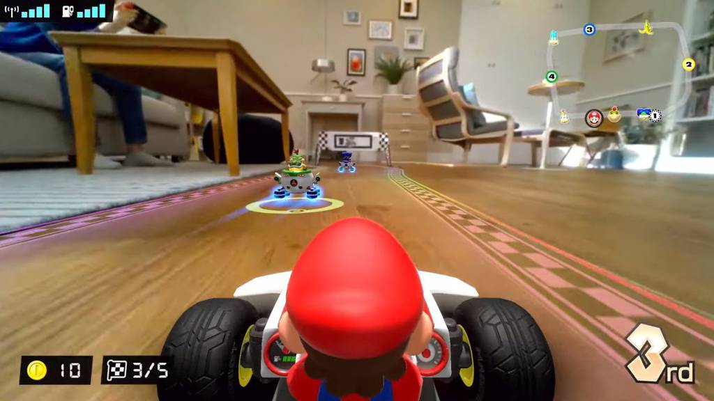 Mario Kart Live Printscreen